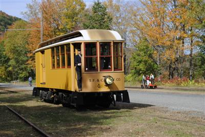 Ride the Trolley - Shelburne Falls Trolley Museum